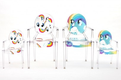 Kartell meets My Little Pony