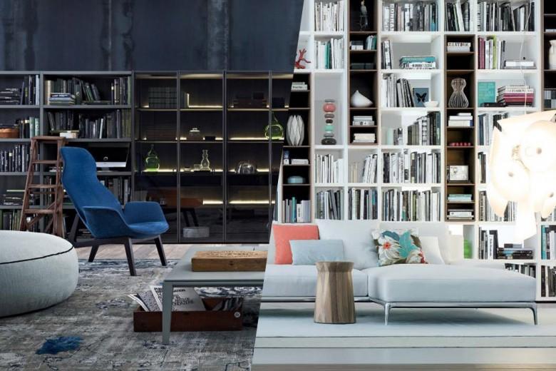 Librerie a parete: il modo più semplice (e bello) di arredare con i libri