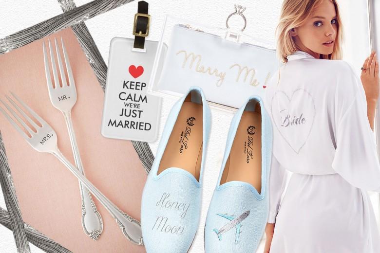 10 accessori divertenti per la sposa