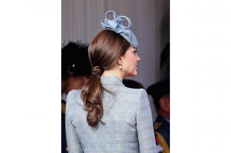 Kate Middleton capelli: coda bassa