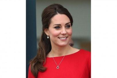 Kate Middleton capelli: semi raccolto