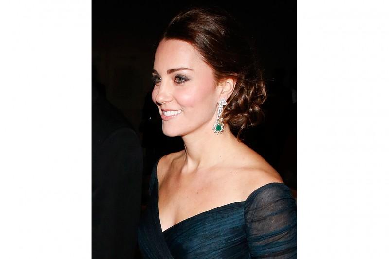 Kate Middleton capelli: chignon basso