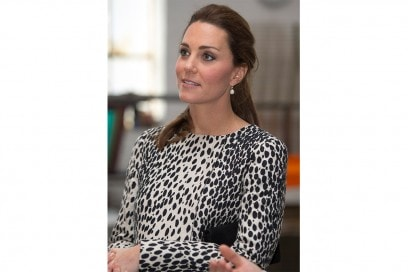 Kate Middleton capelli: coda bassa basic