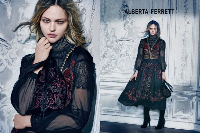 Le campagne per l'Autunno-Inverno 2015: Alberta Ferretti