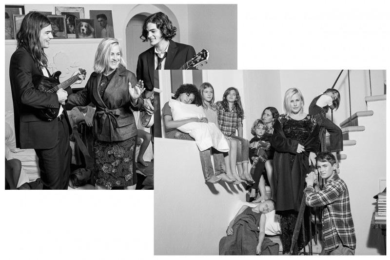 Le campagne per l'Autunno-Inverno 2015: Marina Rinaldi
