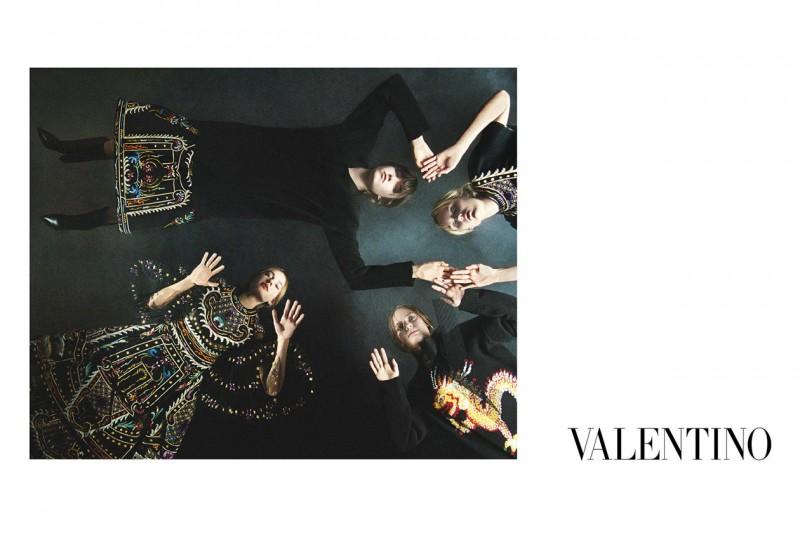 Le campagne per l'Autunno-Inverno 2015: Valentino