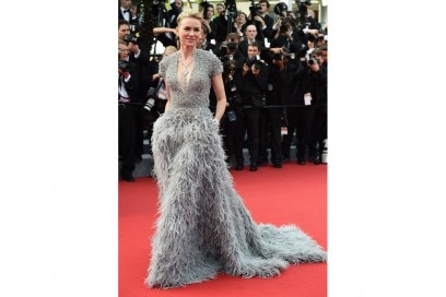 look sparkling: naomi watts in elie saab couture