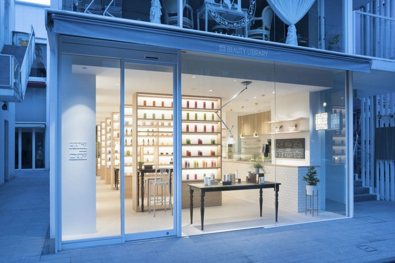nendo beauty library1