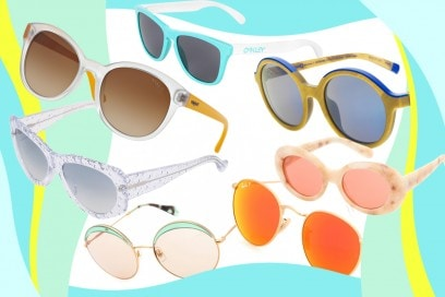 occhiali da sole per la spiaggia
