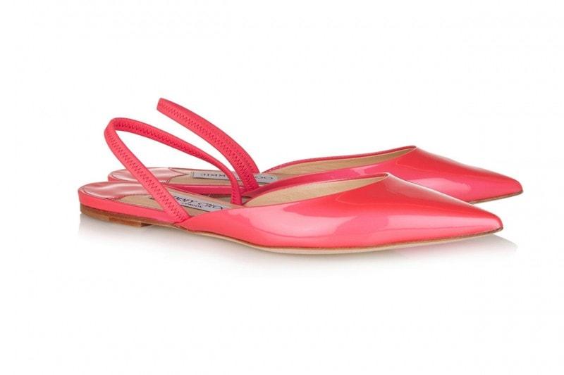 Sandali rosa fragola: Jimmy Choo