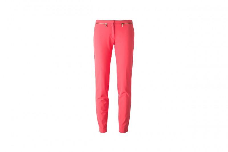 Pantaloni rosa fragola: Versace
