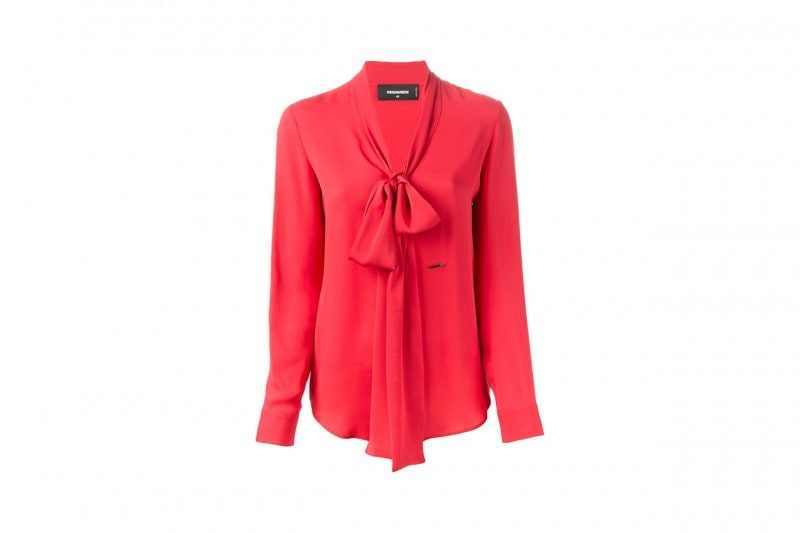 Blusa rosa fragola: Dsquared2