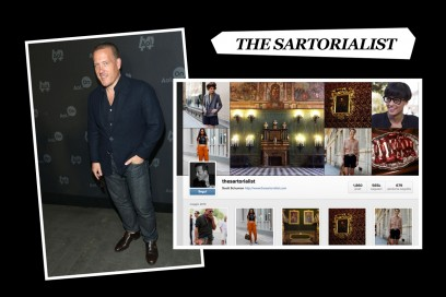 the sartorialist instagram