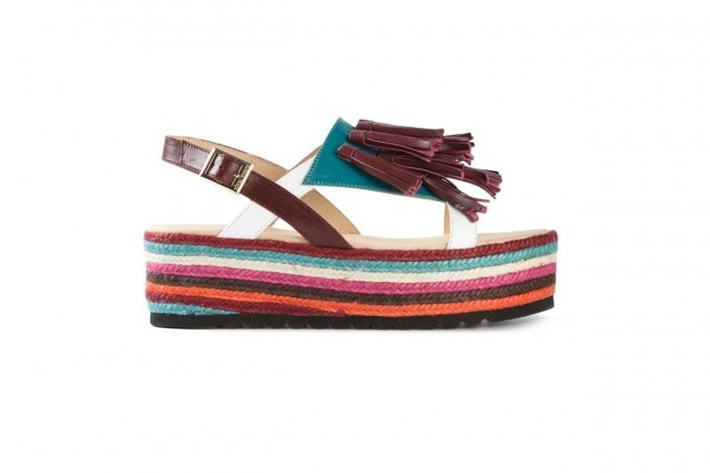 trend multicolor: flatform SUSANA TRACA