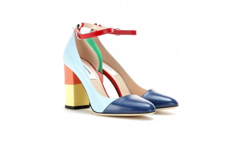 trend multicolor: tacchi THOM BROWNE