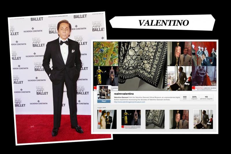 valentino instagram