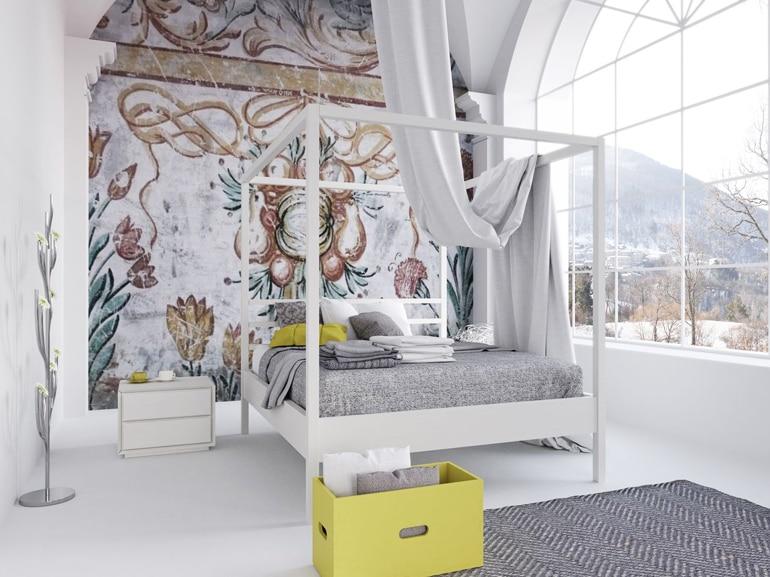 Letti A Baldacchino Maison Du Monde : Sogni d oro sì ma con un letto a baldacchino grazia