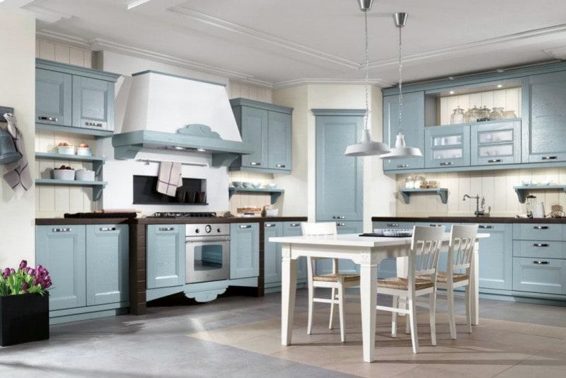 La Cucina D Estate E Country E Azzurra Grazia It