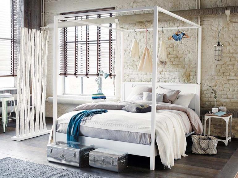 Letti A Baldacchino Ikea : Sogni doro? sì ma con un letto a baldacchino grazia