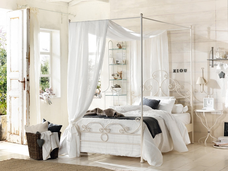 sogni d'oro? sì, ma con un letto a baldacchino - grazia.it - Camera Da Letto Con Baldacchino
