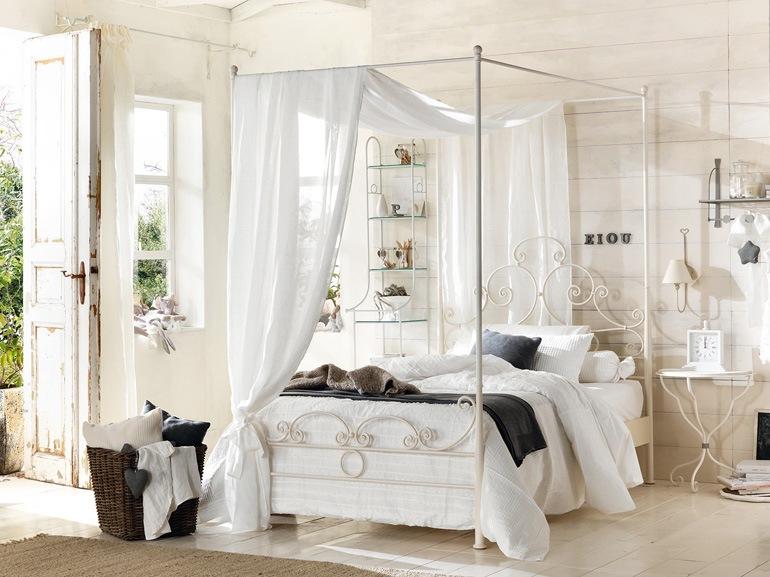 Camere Da Letto Con Letto A Baldacchino : Camere da letto shabby moderno. top assai freddo e invece sposa ogni
