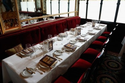 A1 Table Setting at Le Grand VÇfour