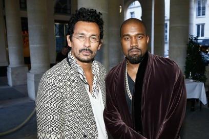 A2 Designer Haider Ackermann & Kanye West