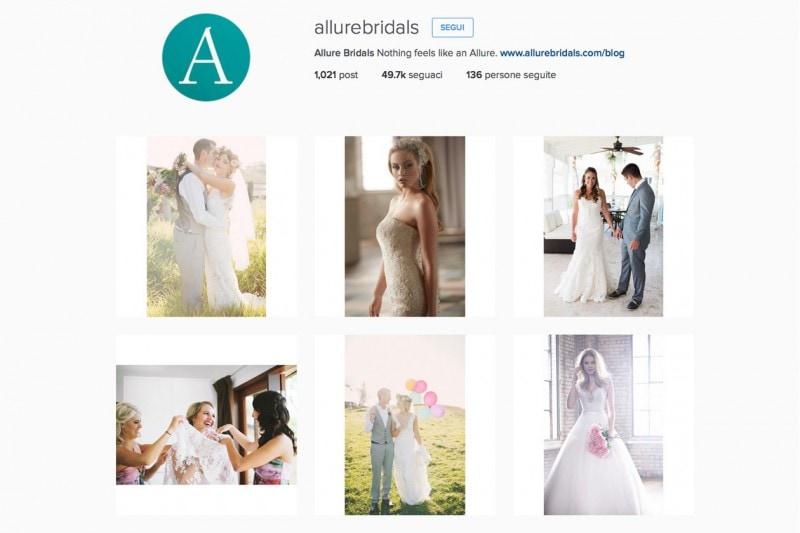 Allure Bridals – @allurebridals