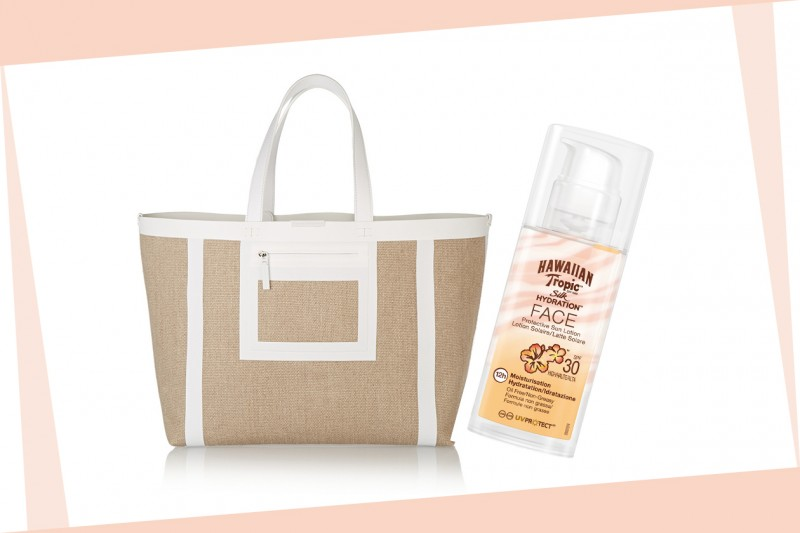 Beauty bag da spiaggia: Hawaiian Tropic