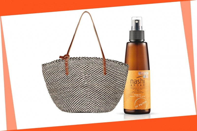 Beauty bag da spiaggia: Nashi Argan