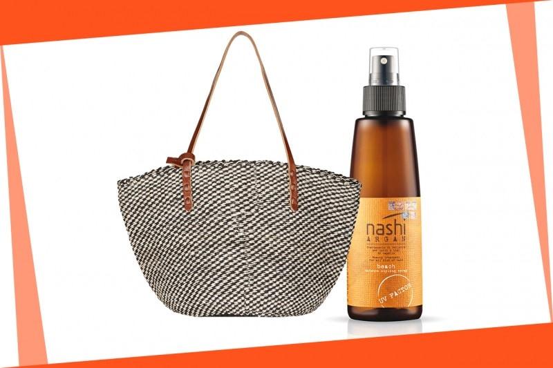 Beauty bag da spiaggia: Nashi Argan