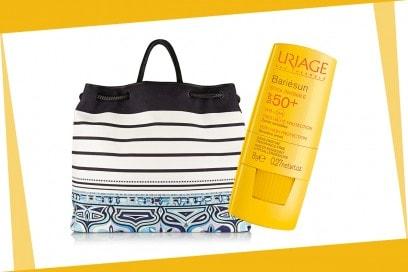 Beauty bag da spiaggia: Uriage
