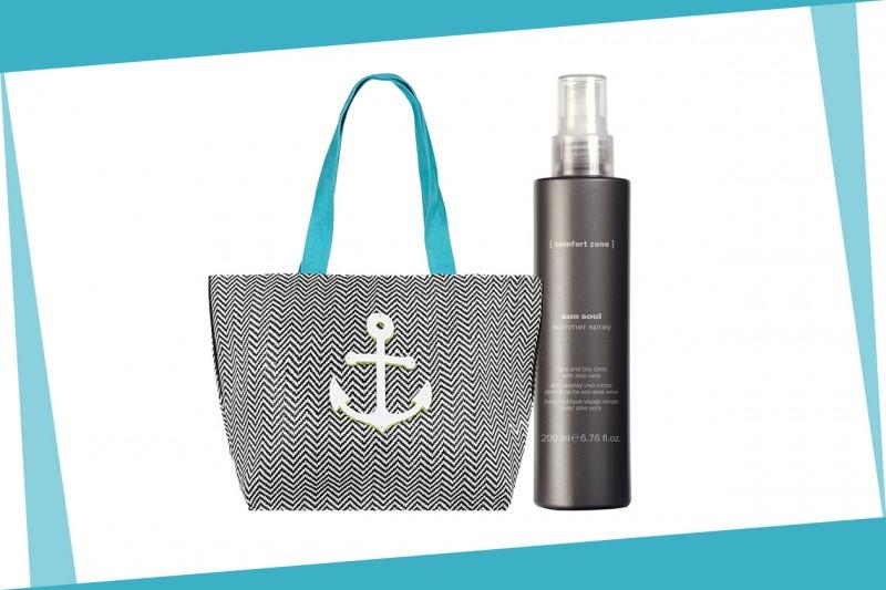 Beauty bag da spiaggia: [ comfort zone ]