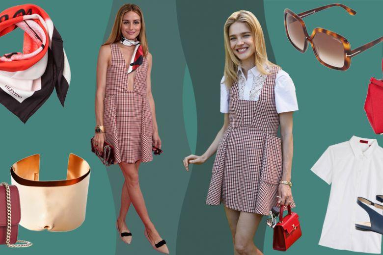 Get the look: Olivia Palermo e Natalia Vodianova in Dior