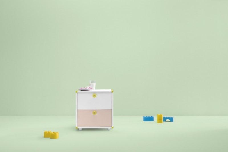 DOTandCROSS Bedside Cabinet