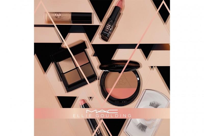 Ellie Goulding trucco: la collezione con MAC Cosmetics