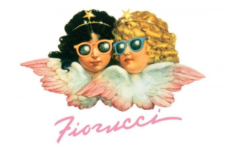 Fiorucci logo with angels