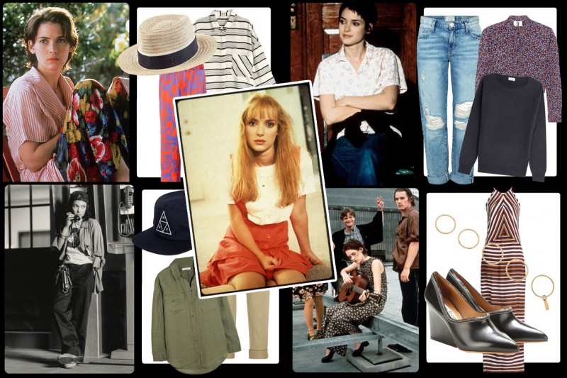 Get the #ThrowBack look: Winona Ryder e gli anni 90