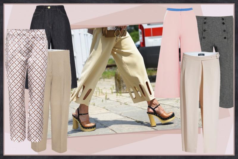 I pantaloni da abbinare agli zoccoli