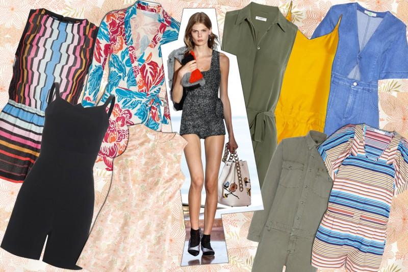 Jumpsuit corte: i modelli per l'estate 2015