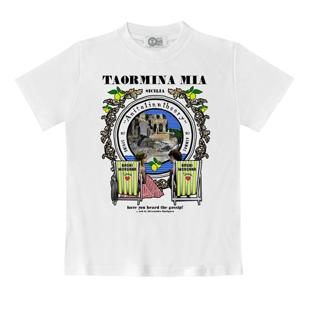 L'esclusiva t-shirt che celebra Taormina: don't miss it!