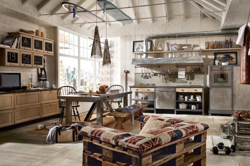 stile industriale: le cucine più belle - grazia.it - Marche Cucine Economiche