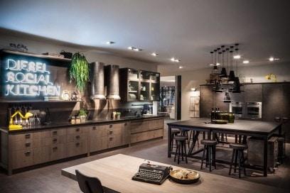 «Diesel Social Kitchen» di Scavolini