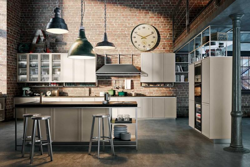 Stile industriale le cucine pi belle - Cucina stile industriale ...