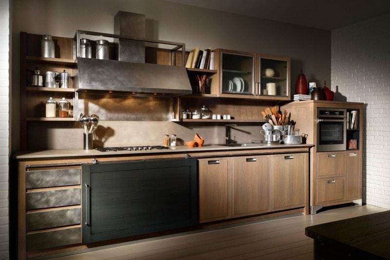stile industriale: le cucine più belle - grazia.it - Cucine Legno E Ferro