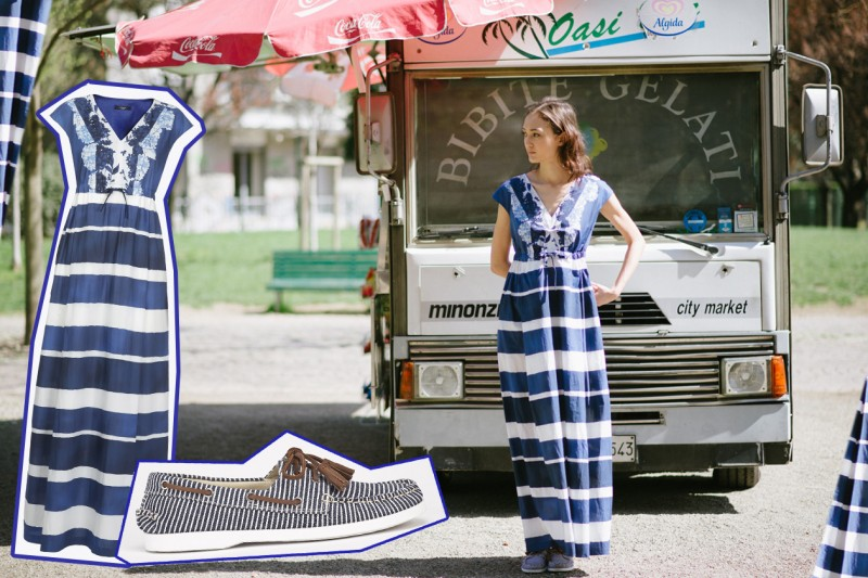 La PE 2015 di WeekEnd Max Mara indossata da Maria Host