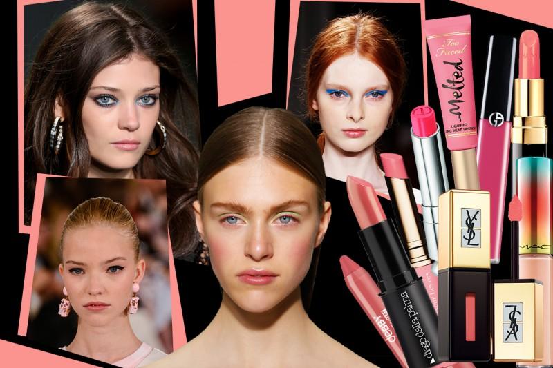 Labbra rosa per l'estate 2015: i nuovi rossetti selezionati da Grazia.it