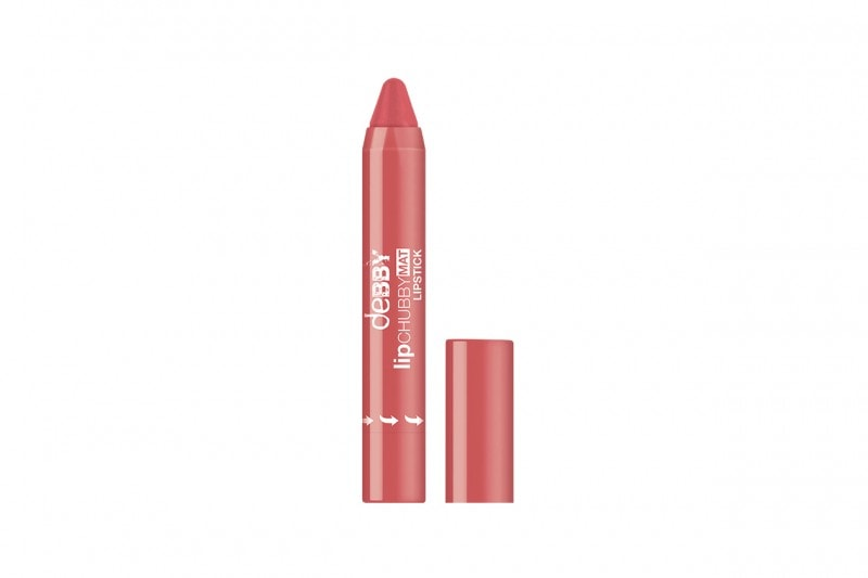 Labbra rosa per l'estate 2015: lipCHUBBY MAT in 08 di deBBY