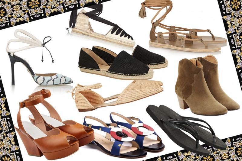 Le scarpe estive per il 2015