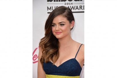 Lucy Hale beauty look: eyeliner
